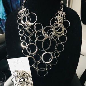 Traci Lynn Necklace & Bracelet Set